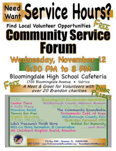 Roundtable - Community Service Hours