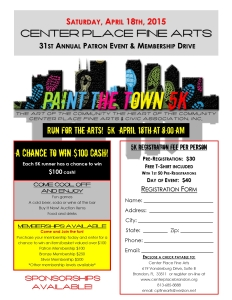 Paint the Town 5k and Family Fun Walk/Run @ Center Place Fine Arts & Civic Association | Brandon | Florida | United States