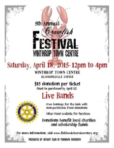 Crawfish Festival by The Rotary Club FishHawk Riverview @ Winthrop Pole Barn | Riverview | Florida | United States