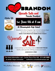 Upscale Sale and $5 Pancake Breakfast for Michelle Hernandez for Honorary Mayor @ Bloomingdale High School | Valrico | Florida | United States