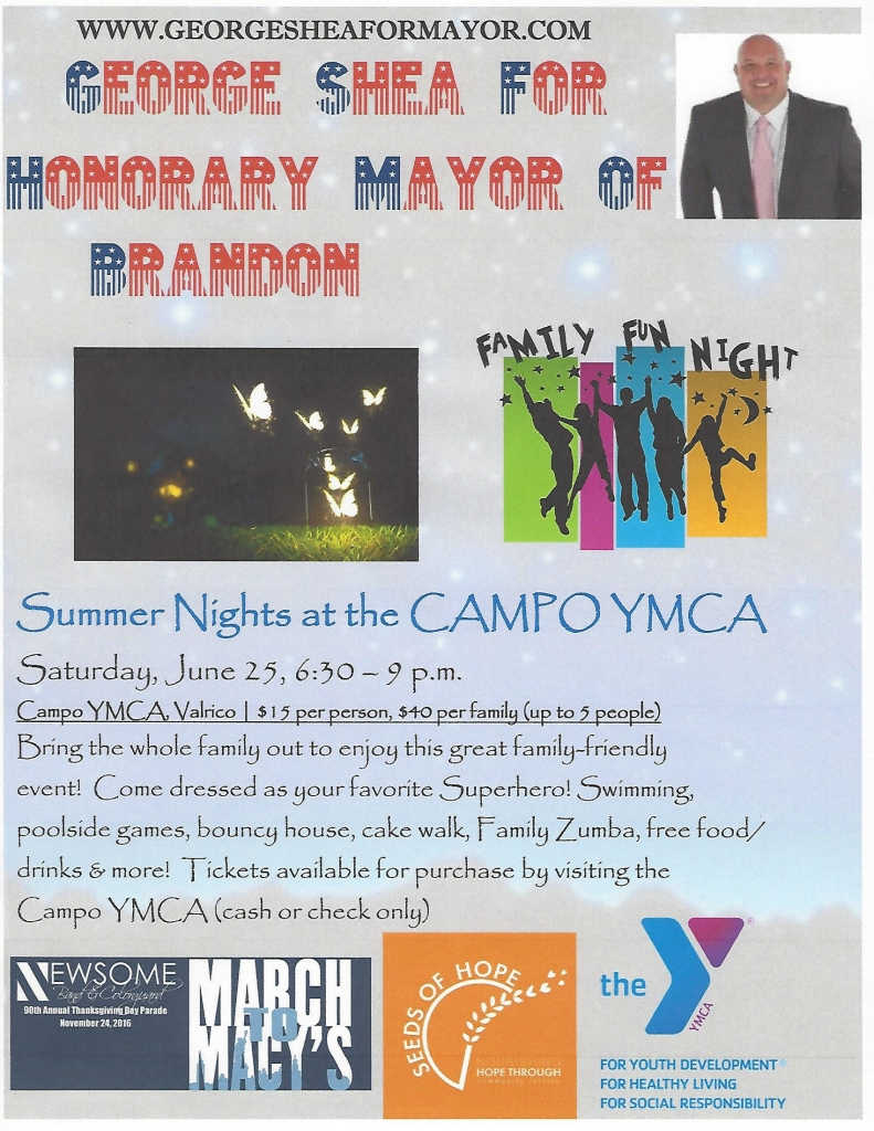 George Shea - Summer Nights at the Campo YMCA @ Campo Family YMCA | Lithia | Florida | United States