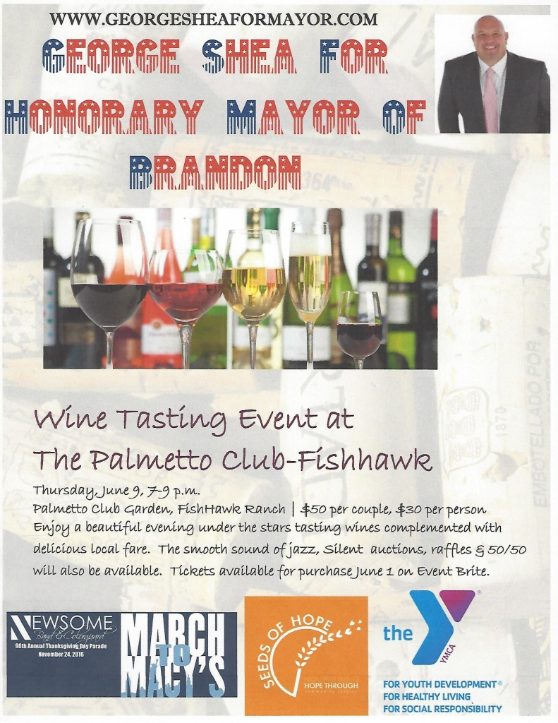 George Shea - Wine Tasting at Palmetto Club at Fishhawk @ The Palmetto Club at Fishhawk | Lithia | Florida | United States