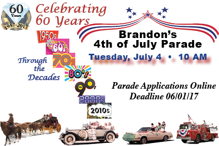 Brandon's July 4th Parade 2017 @ Brandon Parade Starting Place | Brandon | Florida | United States